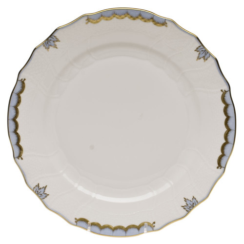 Millman-Pope Herend Princess Victoria Dinner Plate, Light Blue