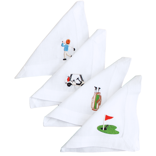 Millman-Pope Hole In One Cocktail Napkins