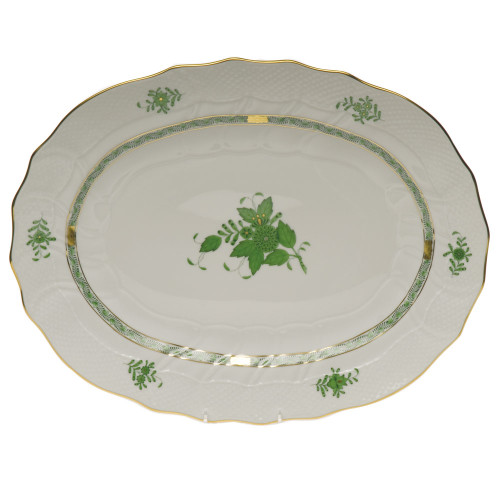 Gates-Engler Herend Chinese Bouquet Platter, Green