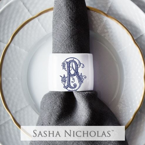 Ruzicka-Pavic Oval Napkin Ring