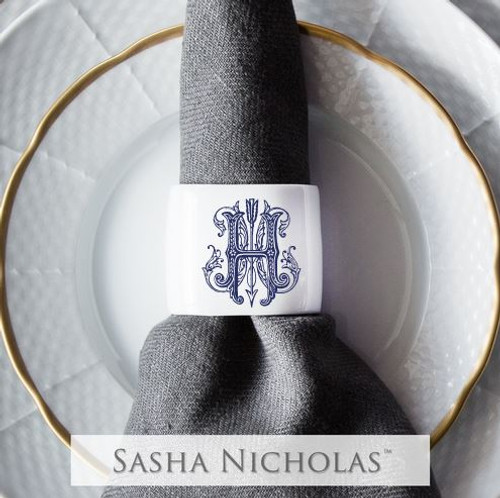 Burgess-Hiers Oval Napkin Ring