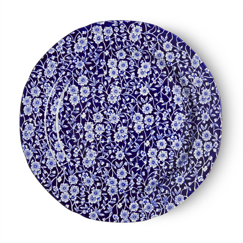 Burleigh Blue Calico Plate Large