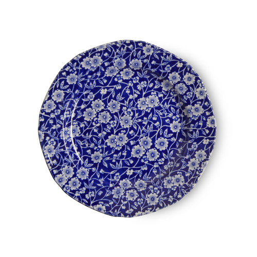 Burleigh Blue Calico Plate Small
