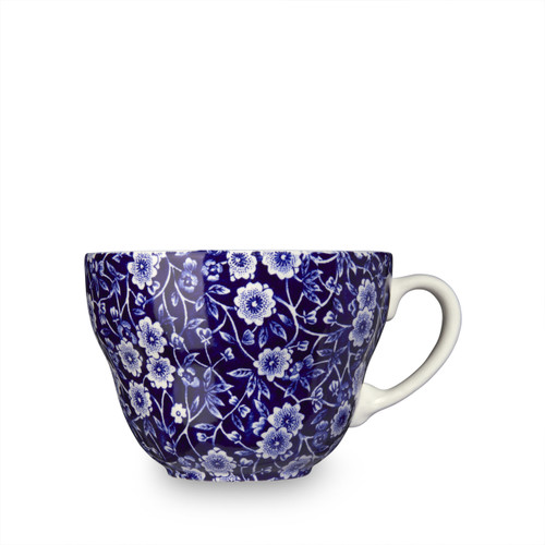Burleigh Blue Calico Breakfast Cup