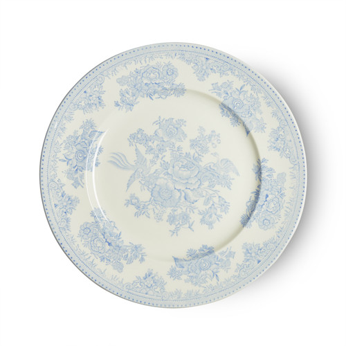 Burleigh Blue Asiatic Pheasants Plate Small