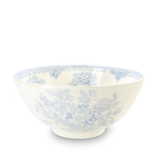 Burleigh Blue Asiatic Pheasants Chinese Bowl Large