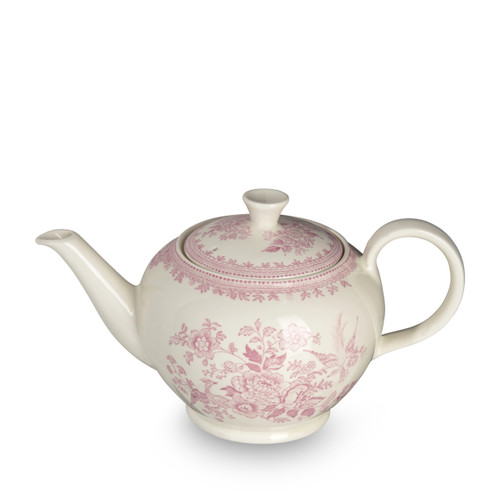 Burleigh Pink Asiatic Pheasants Teapot Large