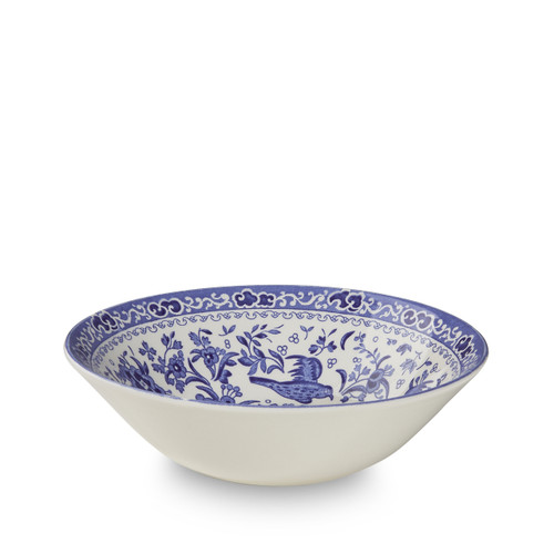 Burleigh Blue Regal Peacock Cereal Bowl
