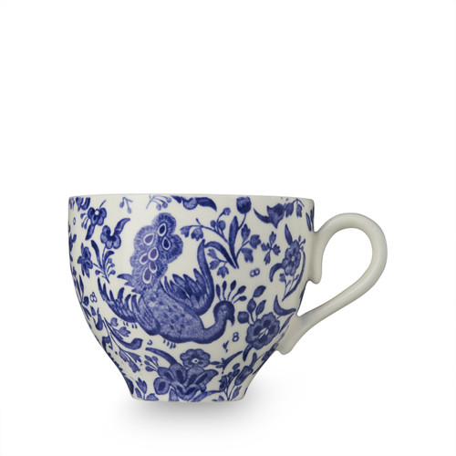 Burleigh Blue Regal Peacock Teacup