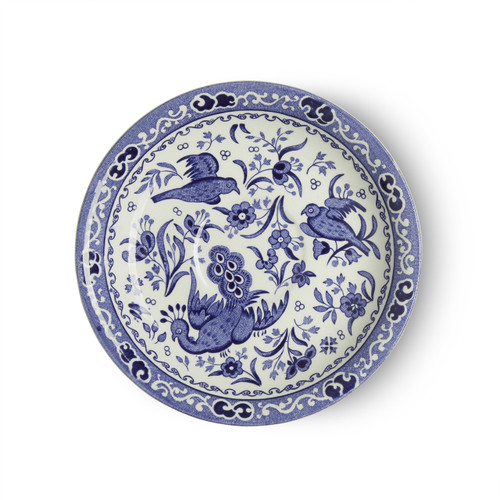 Burleigh Blue Regal Peacock Teacup Saucer
