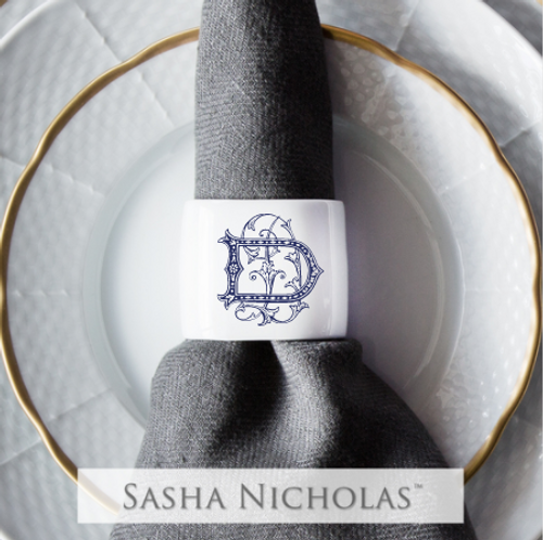 ANDREWS-D'AURIA OVAL NAPKIN RING
