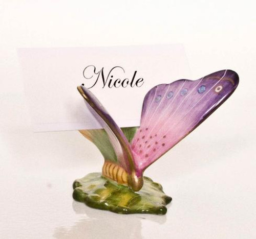 Flights of Fancy Butterfly Card Holder #4
