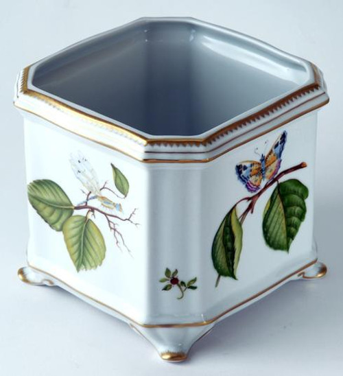 Giftware Floral Butterfly Cachepot