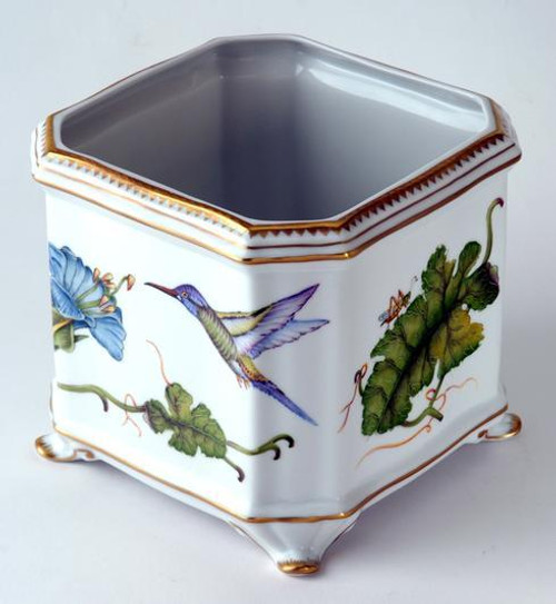 Giftware Hummingbird Square Cachepot