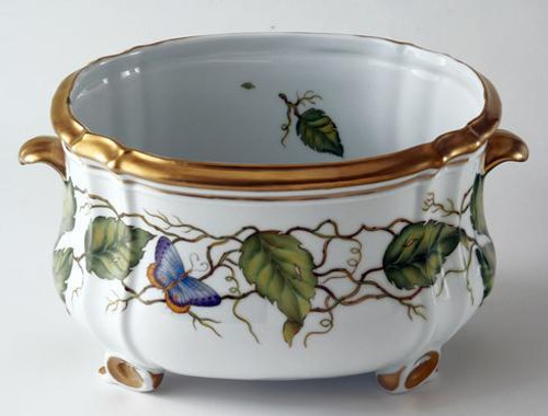 Ivy Garland Large Oval Cachepot