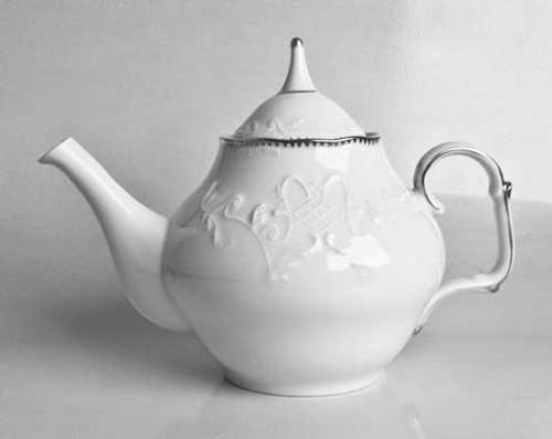 Simply Anna Platinum Tea Pot