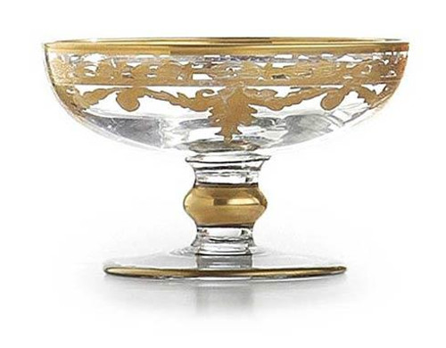Baroque Gold Small Compote