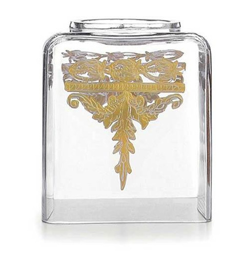 Baroque Gold Tissue Box Holder