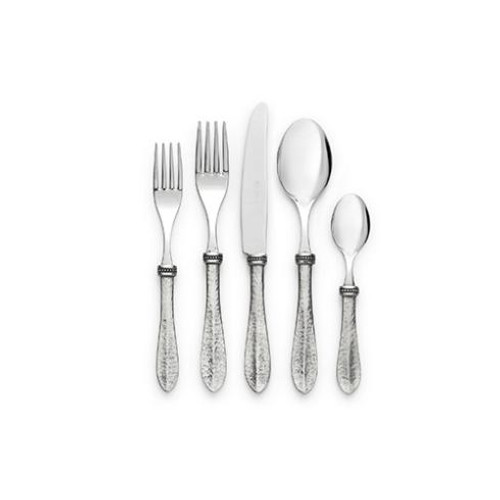 Bella Bianca Flatware 5 piece place set