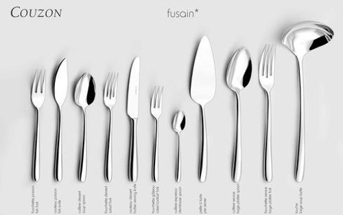 Silver Plated Flatware Fusain Full Compliment *For Reference Only*