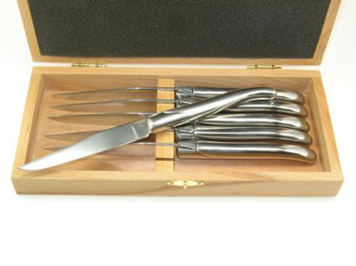 Table Knives & Forks 6 Laguiole knives stainless steel handles