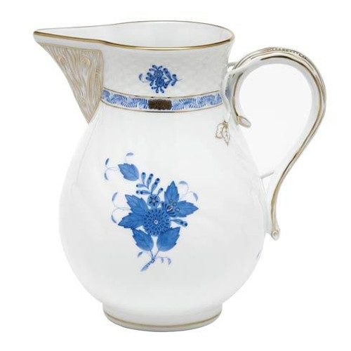 Chinese Bouquet Blue Pitcher - Blue