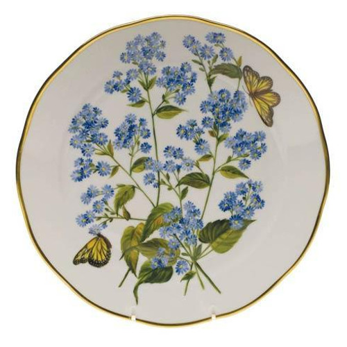 American Wildflowers Blue Wood Aster Dinner Plate
