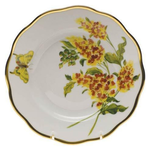 American Wildflower Butterfly Weed Salad Plate Butterfly