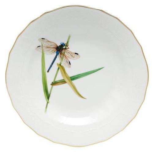Dragonfly Dessert Dessert Plate - Multicolor