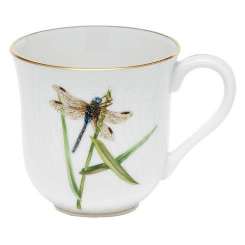 Dragonfly Dessert Mug - Multicolor