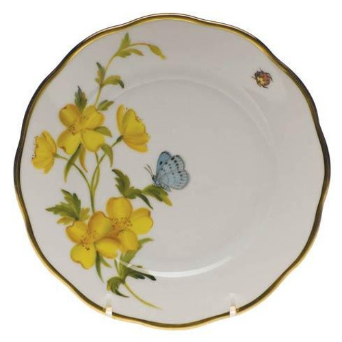 American Wildflower Evening Primrose Bread & Butter Plate