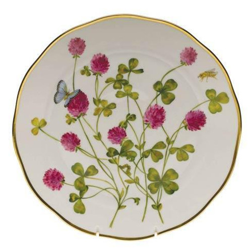 American Wildflower Red Clover Dinner Plate Red Clover