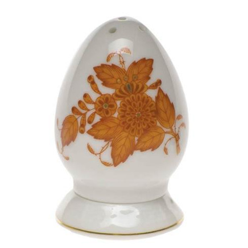 Chinese Bouquet Rust Salt Shaker Multi Hole
