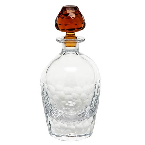 "Decanters Decanter 24 Oz. 10.8"" H Clear & Topaz"