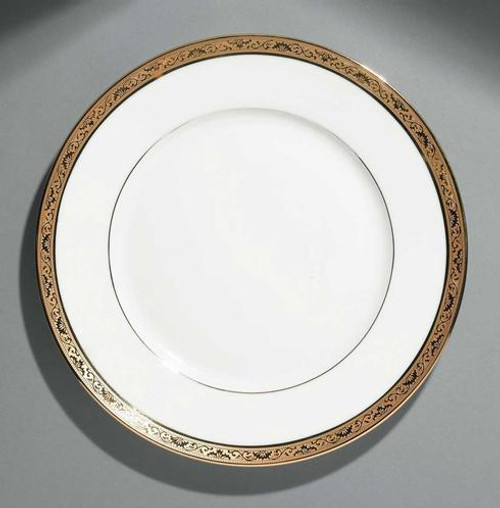 Ambassador Gold Dinner Plate