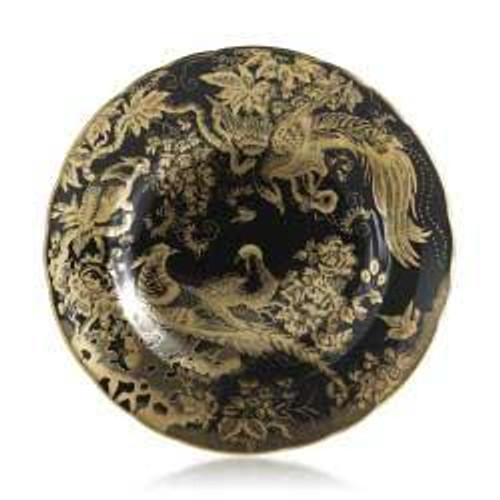 Accent Gold Aves Black Gift Boxed Salad Plate
