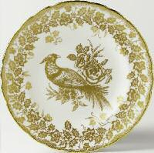 Accent Gold Aves Holiday Plate in Gift Box