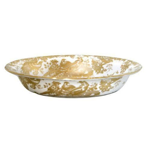 Aves Gold Open Vegetable Dish