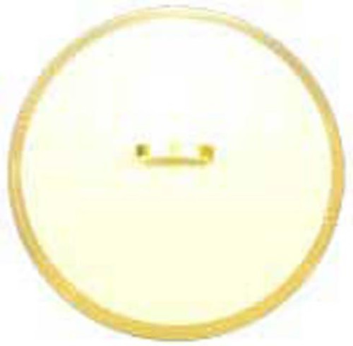 Arabesque Gold Lid for 56 ounce Open Vegetable