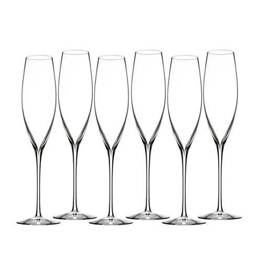 Elegance Classic Champagne Toasting Flute S/6 (Classic Flutes)