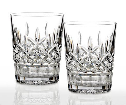 Lismore 12 oz Double Old Fashioned, Set of 2
