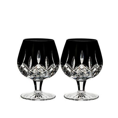 Lismore Black Brandy Set/2