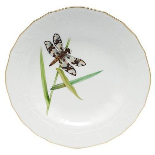 Dragonfly Dessert Dessert Plate - Multicolor | HERHRD-LIBEL-01520-0-02