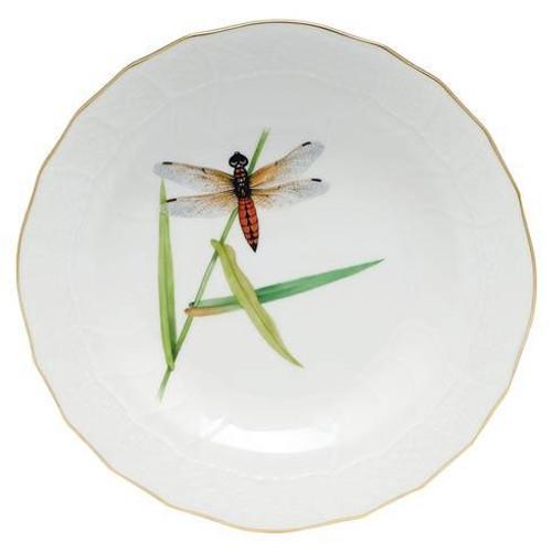 Dragonfly Dessert Dessert Plate - Multicolor | HERHRD-LIBEL-01520-0-03