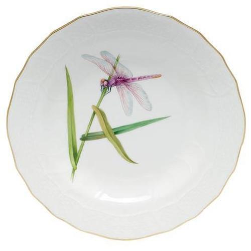 Dragonfly Dessert Dessert Plate - Pink Dragonly