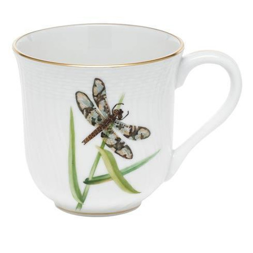 Dragonfly Dessert Mug - Black Dragonfly