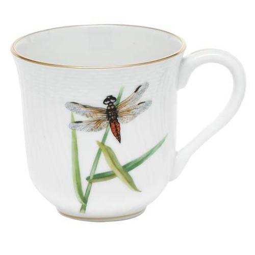 Dragonfly Dessert Mug - Brown Dragonfly