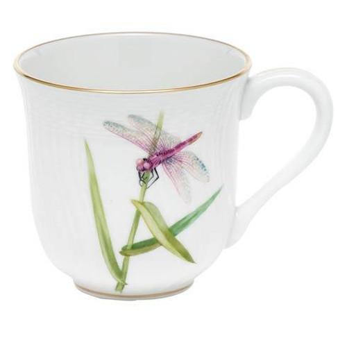 Dragonfly Dessert Mug - Pink Dragonfly
