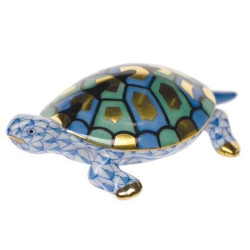 Baby Turtle Blue