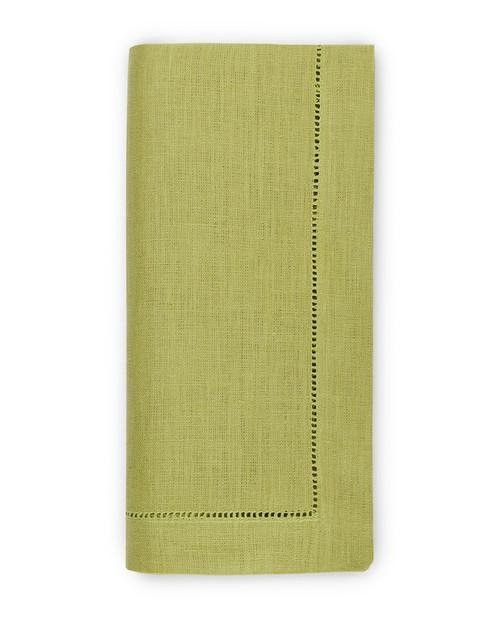 Goltermann-Grote Sferra Festival Linen Napkin Set of 4   Lime